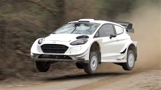 Elfyn Evans Amazing Test   Ford Fiesta WRC 2017   Rally Mexico by Jaume Soler