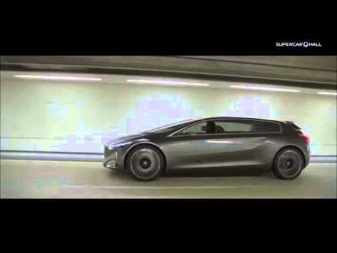The Peugeot HX1 Concept Car – Hybrid Electirc Vehicle