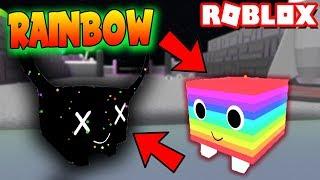 ¡Pets SUPER RARAS Y ARCOIRIS! Roblox: Pet Simulator