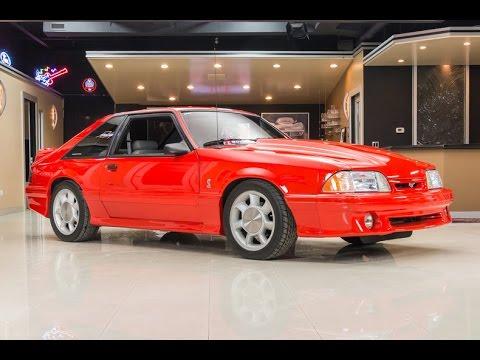 1993 Ford Mustang Svt Cobra For Sale Youtube