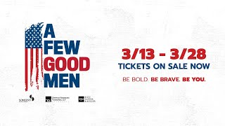 "Booth Tarkington Civic Theatre presents: ""A Few Good Men"""
