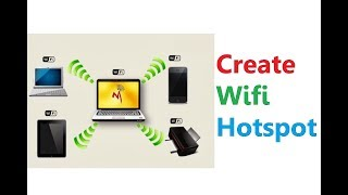 How To Create Wifi Hotspot On PC / laptop Through Wifi USB Dongle