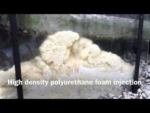 High Density Polyurethane Foam Concrete Leveling Foam