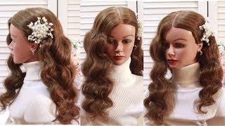 Как сделать кудри без плойки без вреда для волос  How to curl your hair without heat