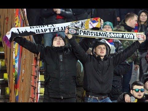 Navijači CSKA pevaju Partizanu (Crvena zvezda - CSKA)
