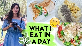 What I Eat In A Day • Healthy + Easy • Liah Yoo