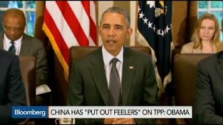 Obama Says China Showing Interest in TPP