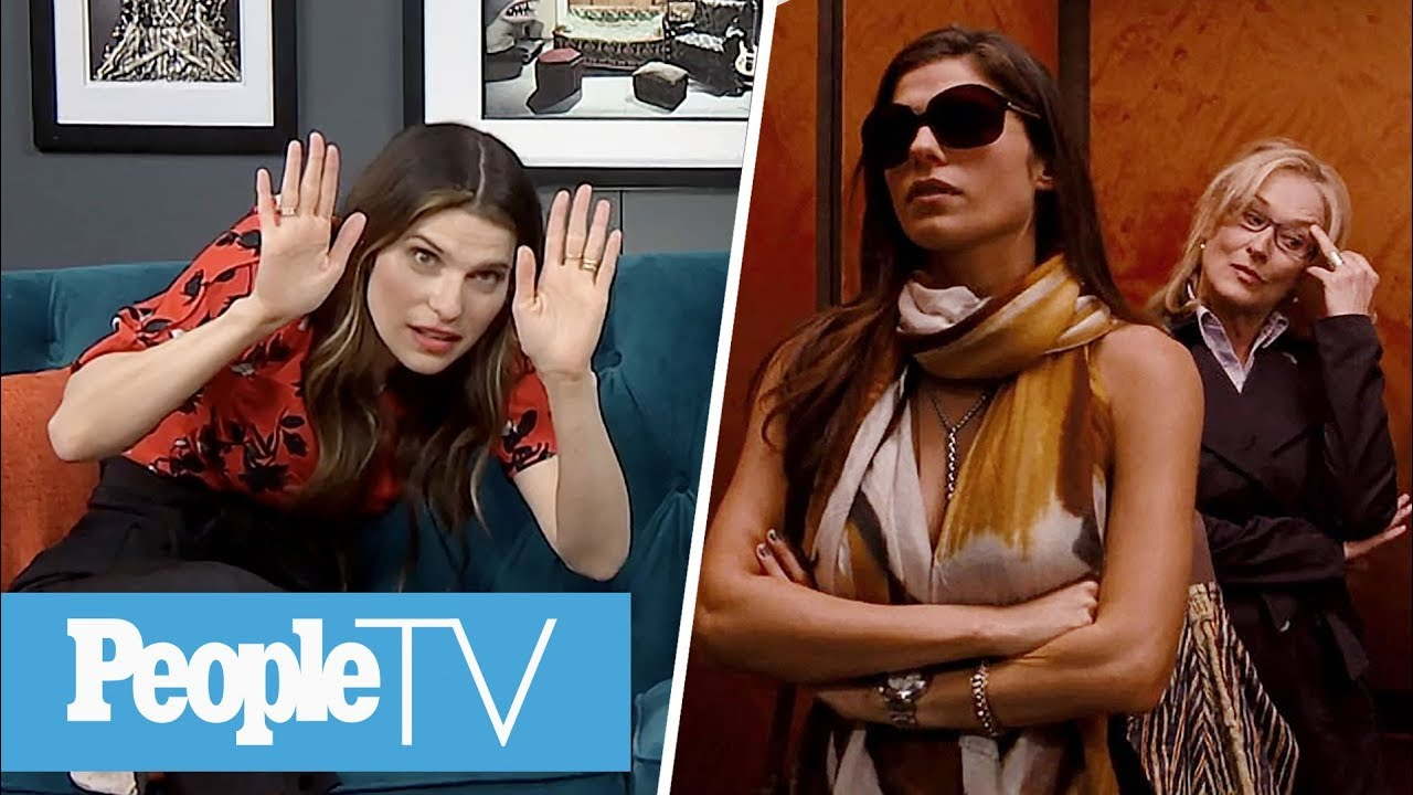 Lake Bell Dishes On Her 'It's Complicated' Co-star Meryl Streep | PeopleTV