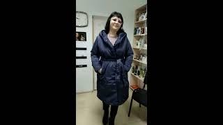 Faberlic  обзор продукции:Утепленное пальто с поясом