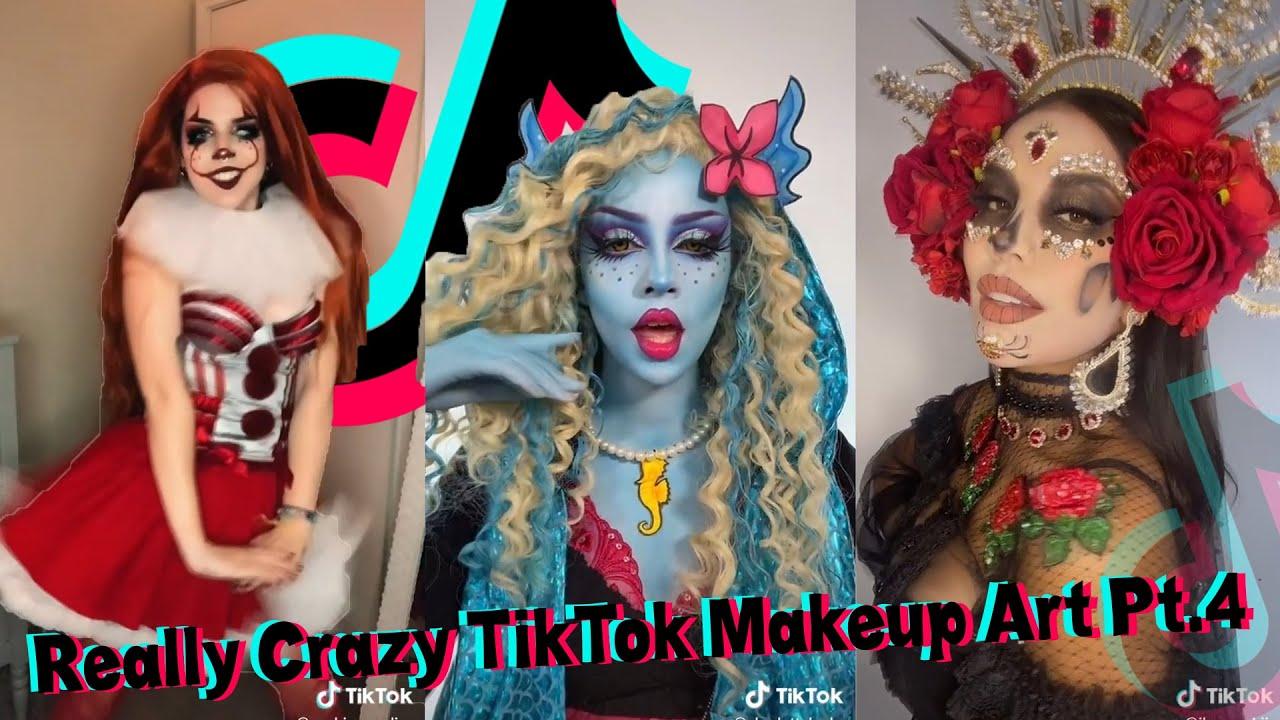 Really Crazy Makeup Art I Found On TikTok Pt 4