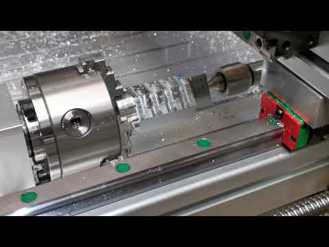 CNC Machining V8 Engine Block with 4th Axis