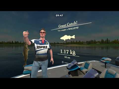 Rapala Fishing  Pro Series Gameplay