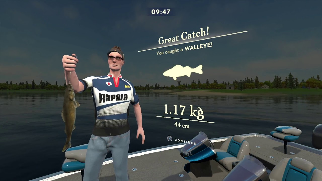 Rapala Fishing Pro Series Gameplay Youtube