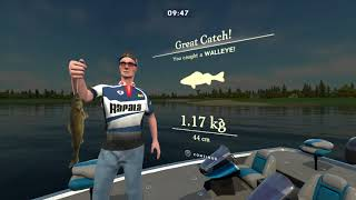 Rapala Fishing  Pro Series Gameplay