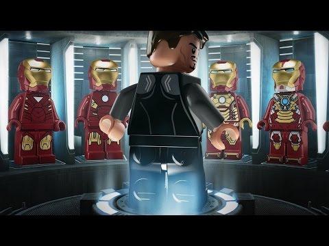 Lego Marvel Avengers  костюмы Железного человека