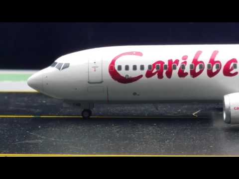 JC Wings 200 Carribean Airlines B737-800(WL)Review