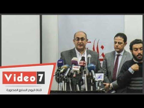 -خالد على- يُعلن استمراره فى خوض معركة الانتخابات الرئاسية  - 16:22-2018 / 1 / 17
