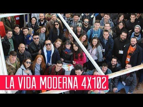 La Vida Moderna 4x102...es vapeador y café latte, moñeco de chocolate