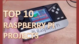 TOP 10 Raspberry Pi projects