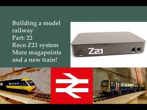Building a model railway part 22. Roco Z21
