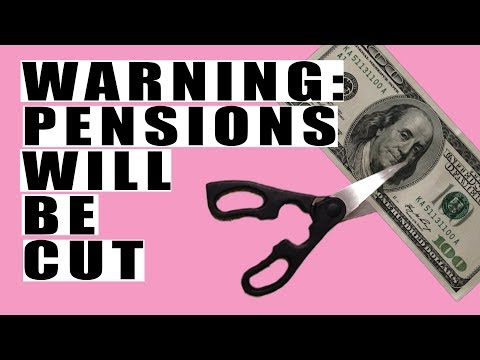 California Governor Admits Pensions WILL BE CUT! Already $1.7 Trillion Underfunded!