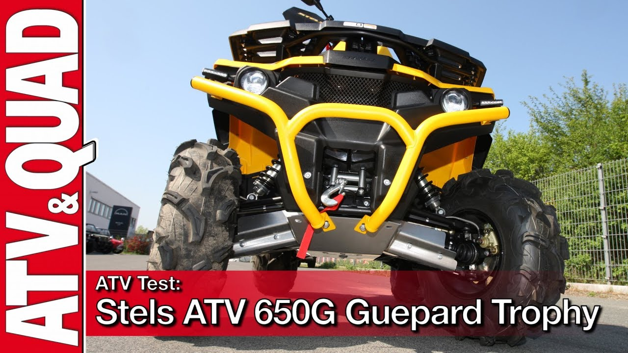 ATV Test: Stels ATV 650G Guepard Trophy