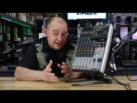 How to use The Behringer 1204USB 12-Input 2/2 BUS Audio Mixer with USB/Audio Interface