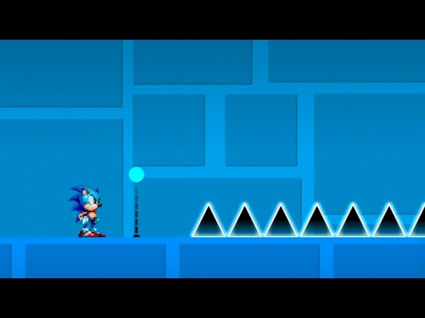 2.2 FOR PERFECT ANIMATION | Geometry Dash 2.11 ~ 2.2 : Sonic in GD ep1 - s0nic X