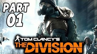 The Division Gameplay German Part 1 - Der Anfang vom Ende - Let's Play The Division Deutsch