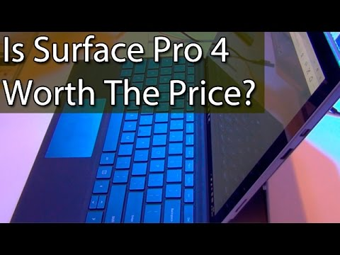 Is Microsoft Surface Pro 4 Worth The Price? Find Out!