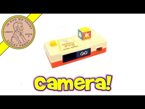 Fisher-Price Vintage Toy Pocket Camera # 464, 1974