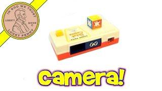 Fisher-price Vintage Toy Pocket Camera # 464, 1974