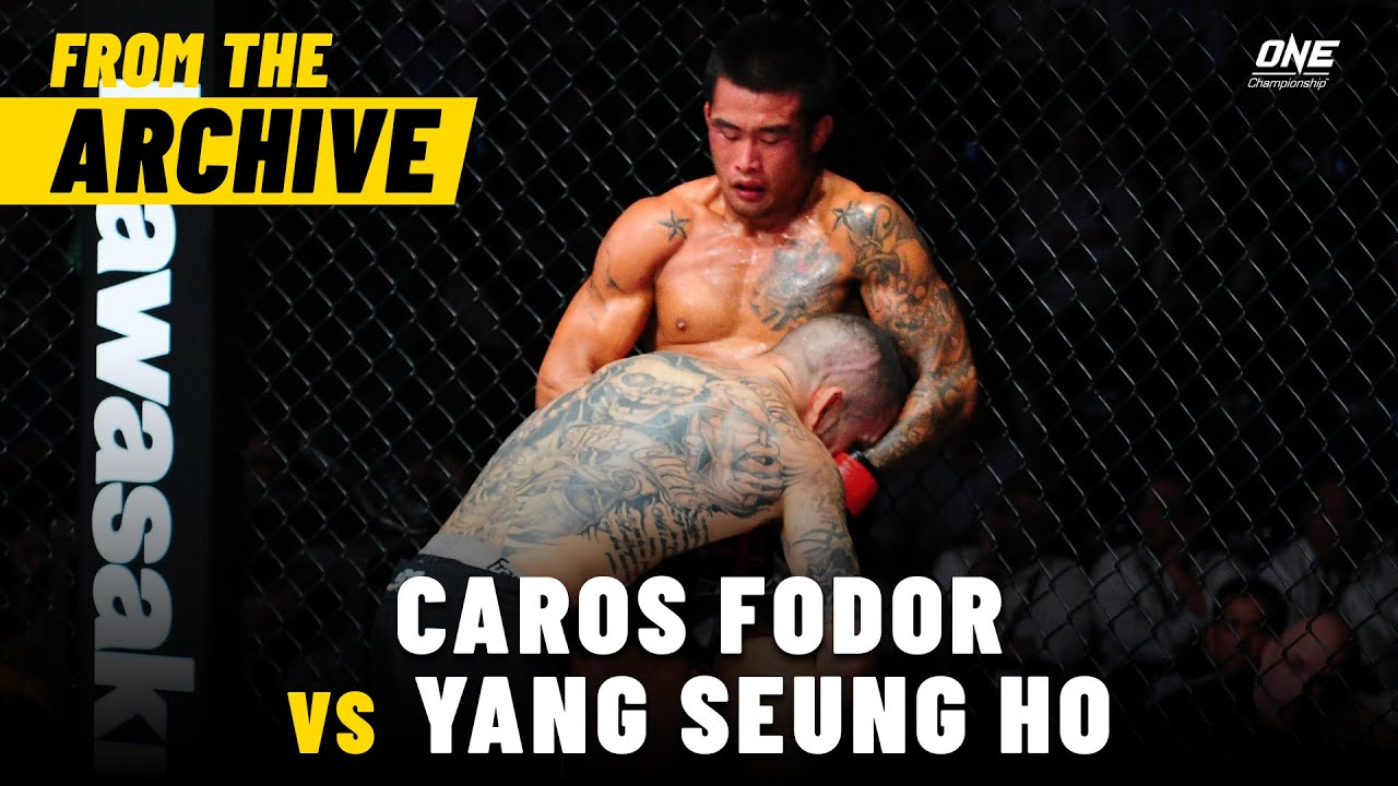 Caros Fodor vs. Yang Seung Ho | ONE Championship Full Fight | September 2013