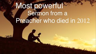 this 9 minute sermon will help you read your Bible again-Bob Jennings (Must listen)