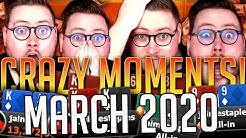 THE BEST AND CRAZIEST MOMENTS OF MARCH 2020 YOUTUBE HIGHLIGHTS!!