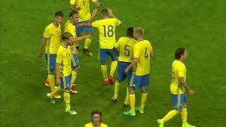 Höjdpunkter: Viktig poäng för Sverige mot Spanien i U21-kvalet - TV4 Sport