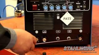 welding machine stahlwerk ac dc plasma 200p ac dc tig inverter pulse arc plasma cutter