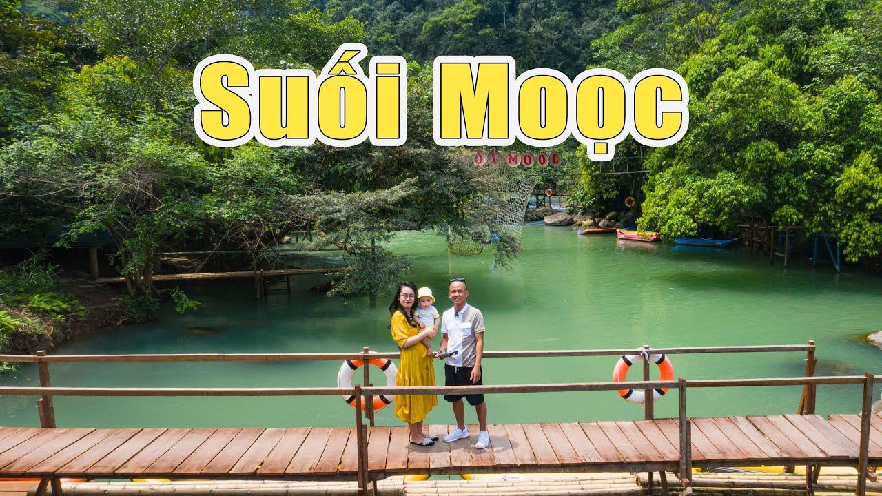 Suối Moọc Quảng Bình đẹp như tiên cảnh - Mooc Spring Quang Binh Province