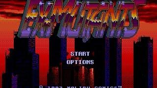 Mega Drive Longplay [405] Ex-Mutants