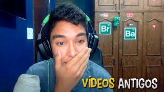 Assistindo Videos Antigos do Canal !! ( Videos Secretos )