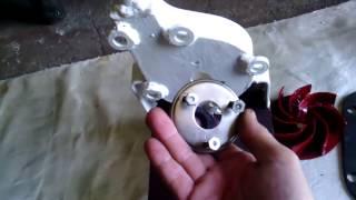 Самодельный центробежный  насос из металлолома.(Этот ролик обработан в Видеоредакторе YouTube (http://www.youtube.com/editor), 2016-07-29T15:01:11.000Z)