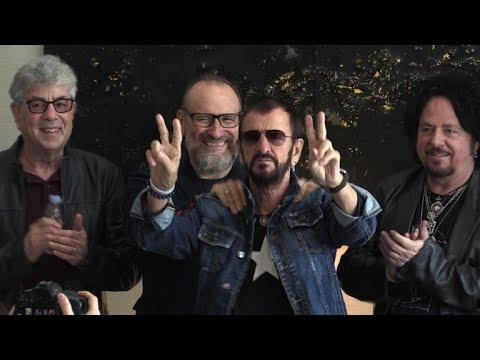 Lex Beatle Ringo Starr à Paris Avec Son Nouveau Groupe Youtube