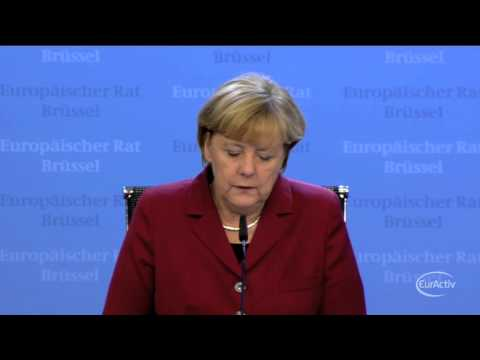 Merkel, Hollande demand explanation over US spying allegations -- Merkel's press conference