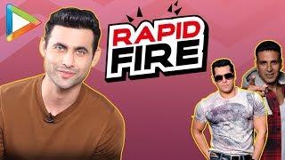 "Freddy DaruwaIa: ""I would run away from Akshay & Salman because..."" | RAPID FIRE | Race 3"