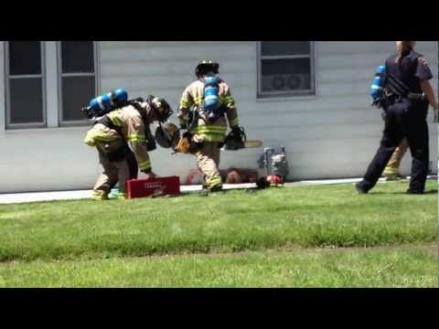 Idaho Falls Fire Dept Rescues Man from Burning House