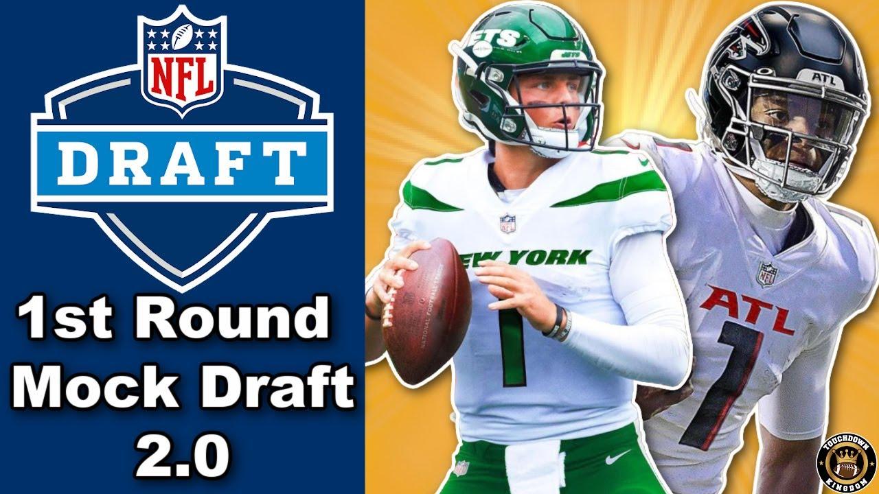 NFL 1st Round Mock Draft 2.0