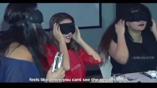 Blindfolded dinner for Qatar Creating Vision