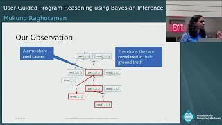 User-Guided Program Reasoning using Bayesian Inference