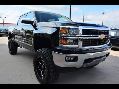 used 2014 chevy silverado 1500 ltz crew cab z71 lifted truck youtube. Black Bedroom Furniture Sets. Home Design Ideas