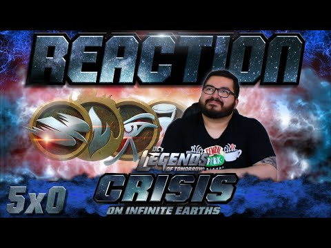 """Legends of Tomorrow 5x0 REACTION!! """"Crisis on Infinite Earths: Part Five"""""""
